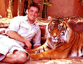человек друссировавший своего тигра