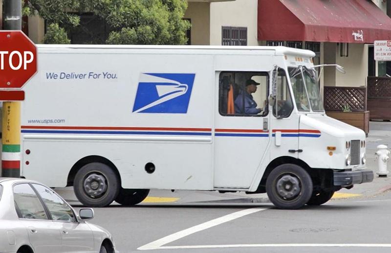 грузовой почтовый автомобиль