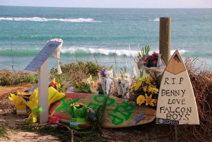 память о погибшем серфингисте