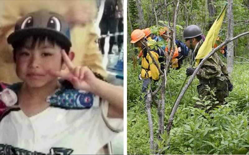 пропавший мальчик в Японии