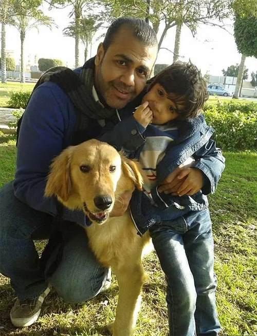 на мальчика напали собаки в Египте