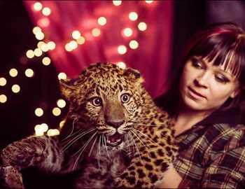 леопард напавший на россиянку