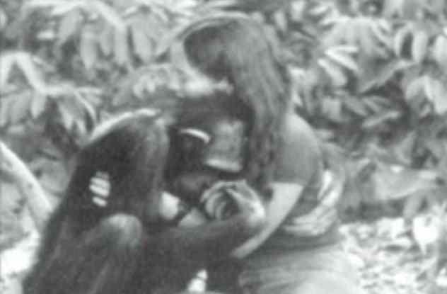 обезьяна Люси