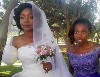 крокодил оторвал руку невесте