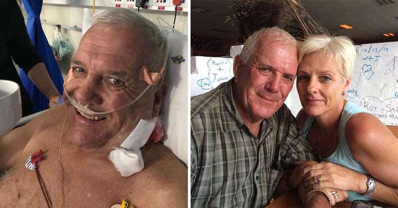 мужчина в больнице после нападения льва