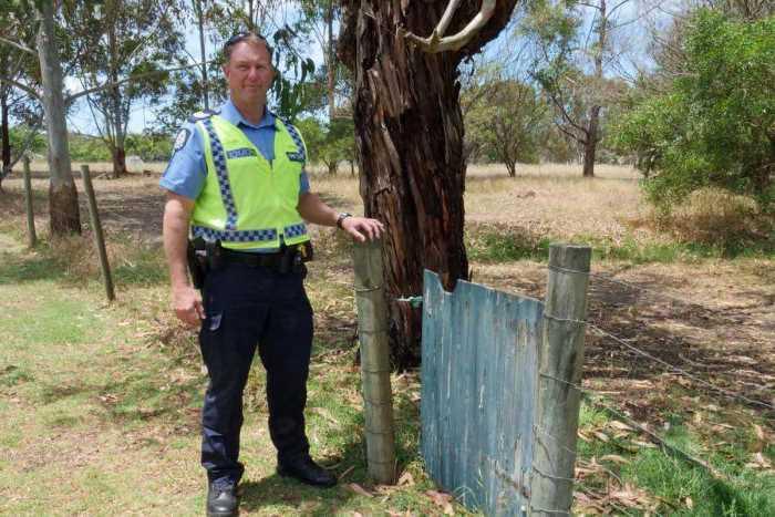 австралийский сержант полиции